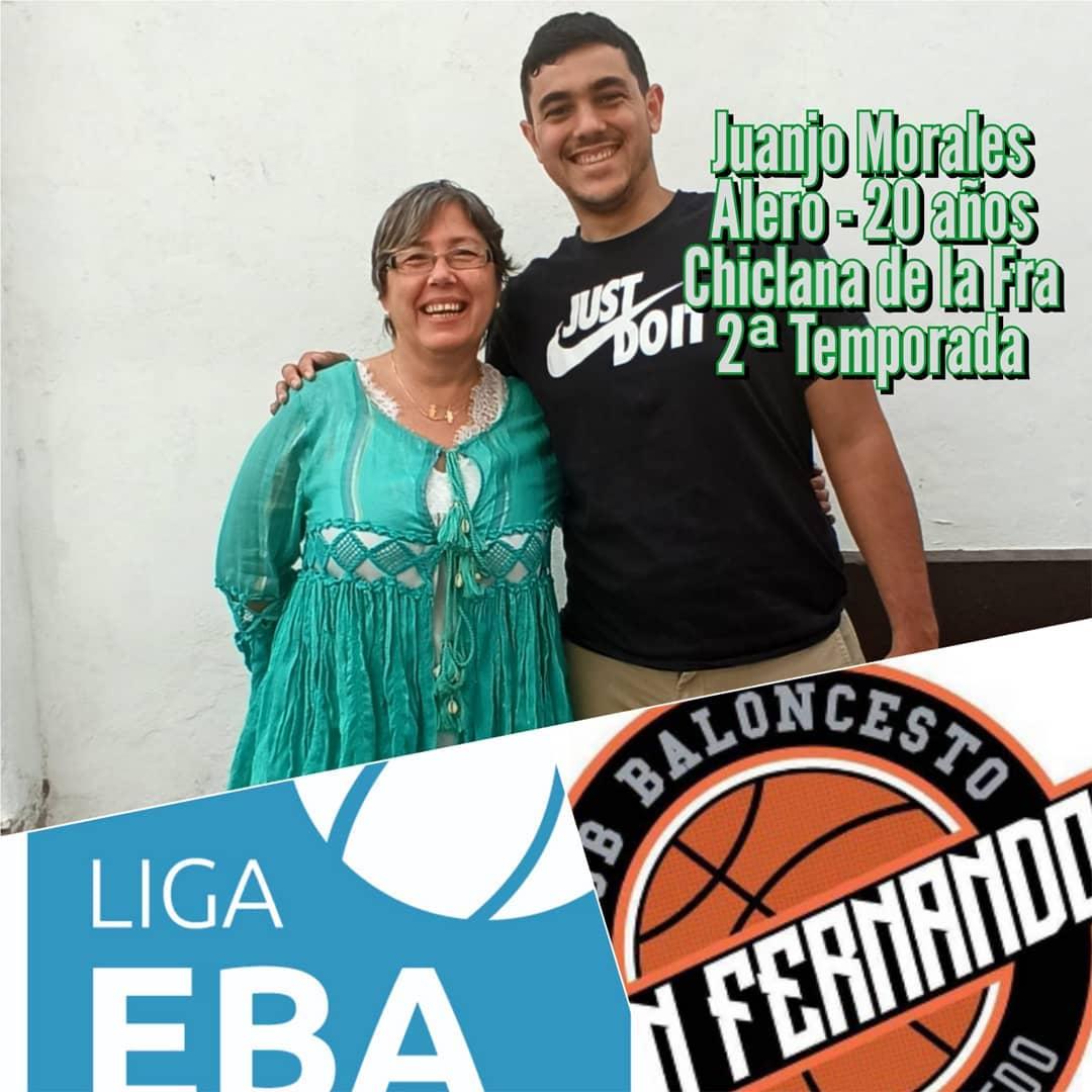 ¡Juanjo Morales, renovado! Gran primera temporada del joven chiclanero Juanjo en nuestro club. Ahora también confirma que seguirá el año que viene en este proyecto EBA verdinegro.